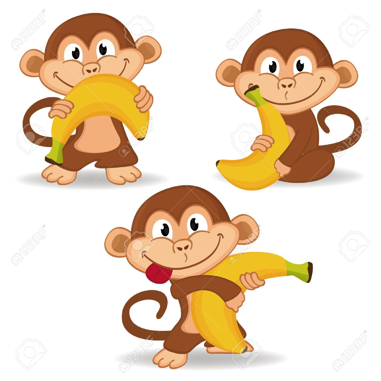 15,823 Funny Monkey Cliparts, Stock Vector And Royalty Free Funny ...