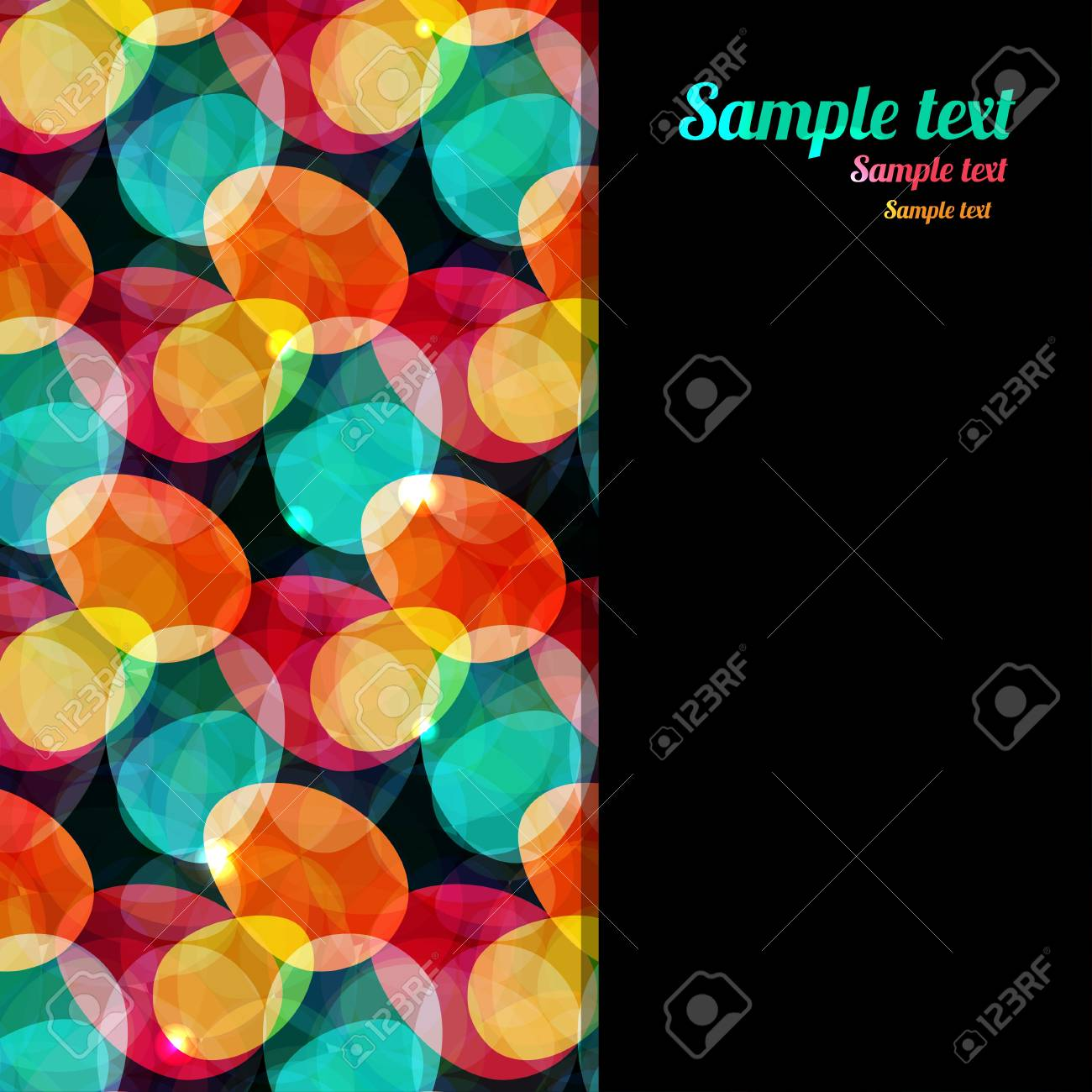 Abstract background with jewels and space for text Stock Vector - 19317452