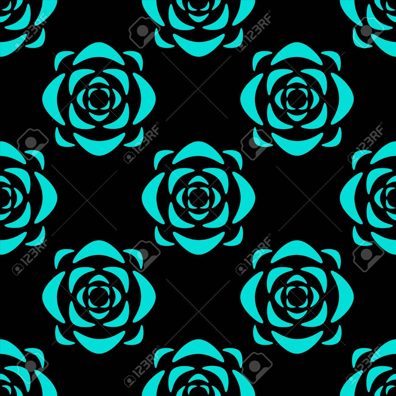 Seamless pattern with silhouettes lotus flowers abstract floral seamless pattern with silhouettes lotus flowers abstract floral background endless print texture fabric mightylinksfo