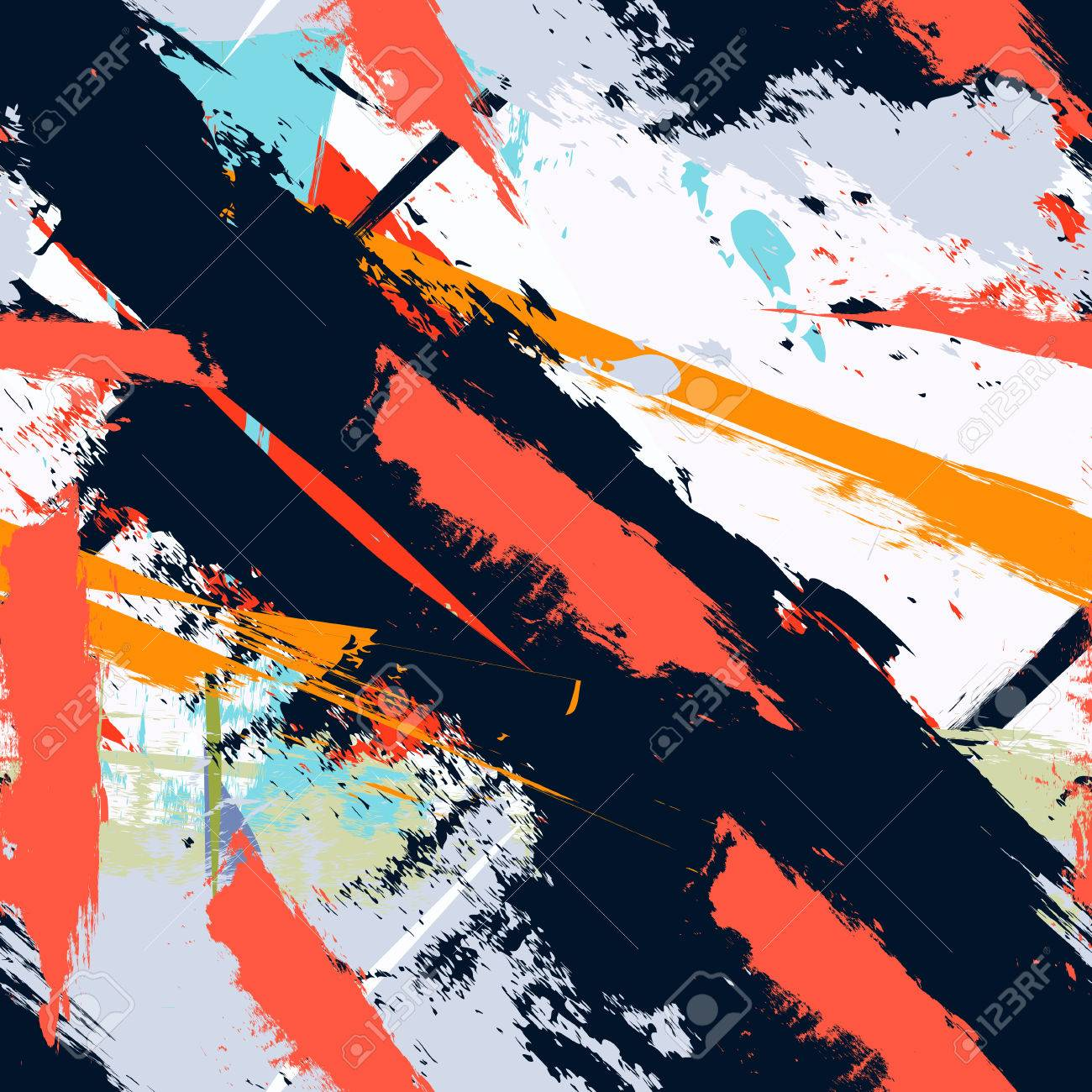 Stripes Abstract Art