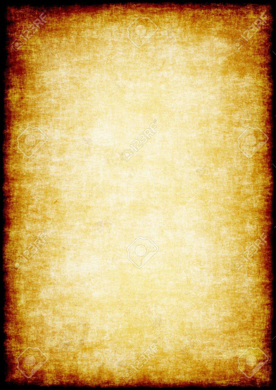 Bien connu Grunge Parchemin Fond. Feuille De Papier Ancien Shabby. Une Haute  DA74
