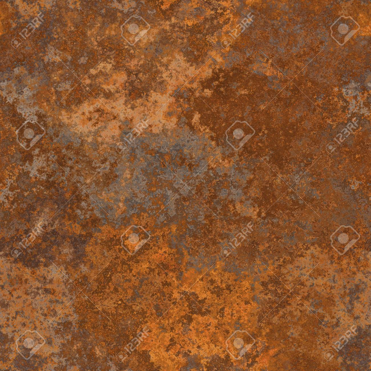 Seamless Old Rusty Metal Texture A High Resolution Stock Photo