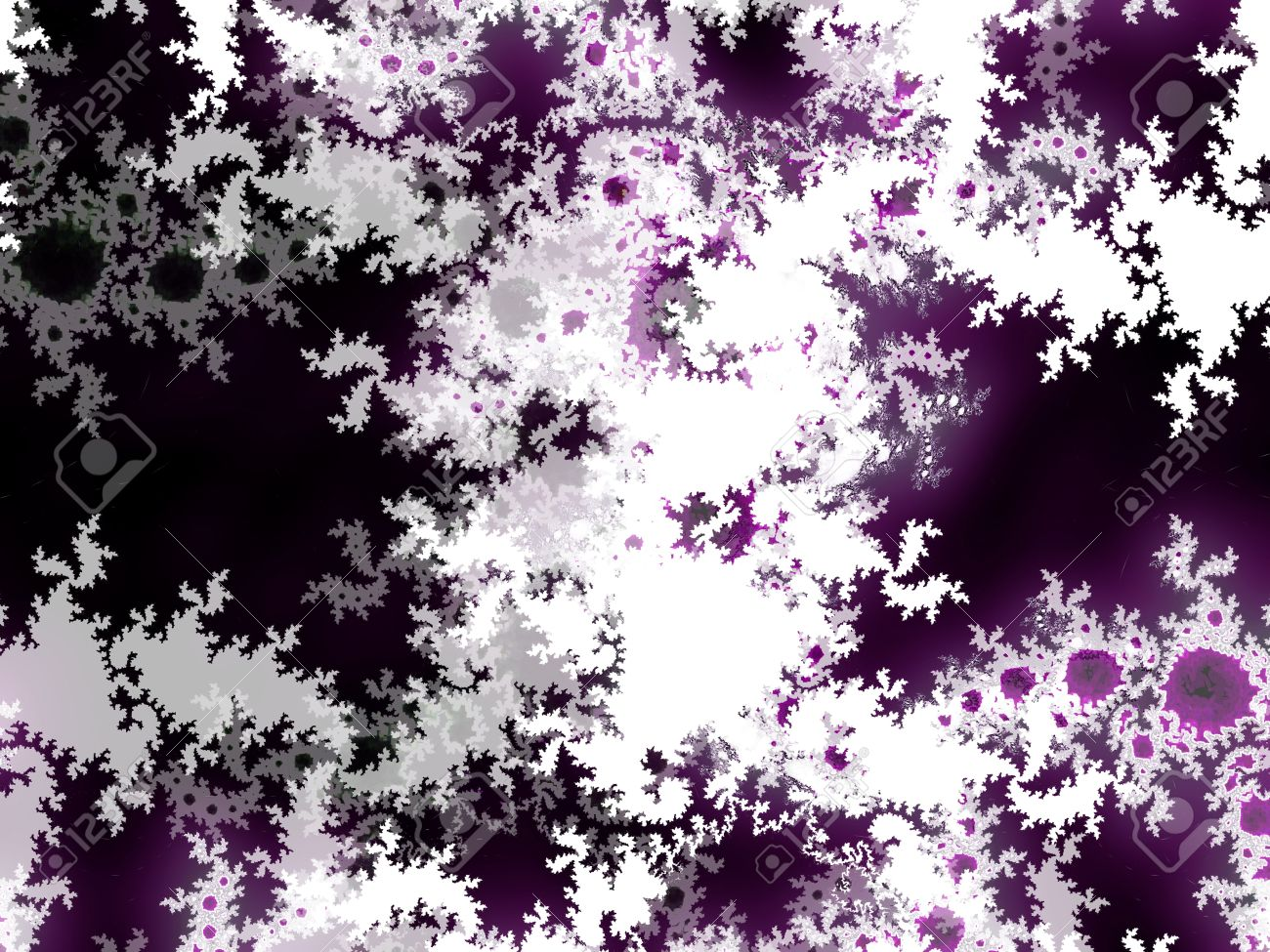 Purple Black And White Abstract Mysterious Background Stock Photo