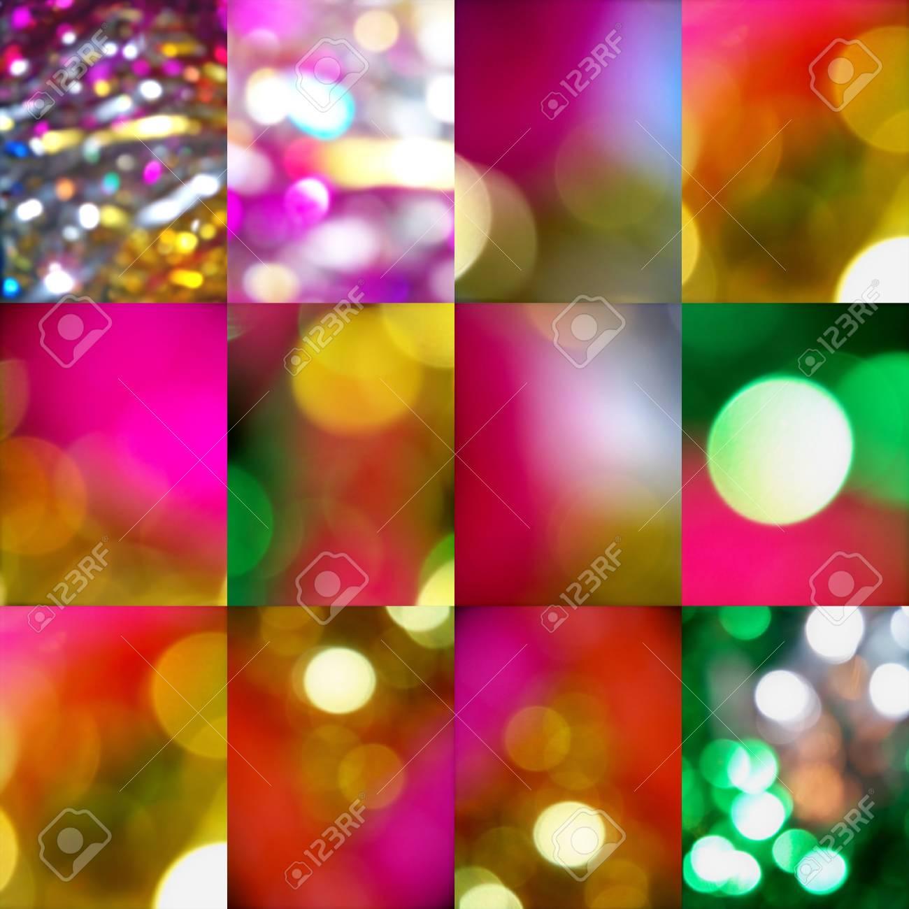 Christmas lights backgrounds Stock Photo - 7371094