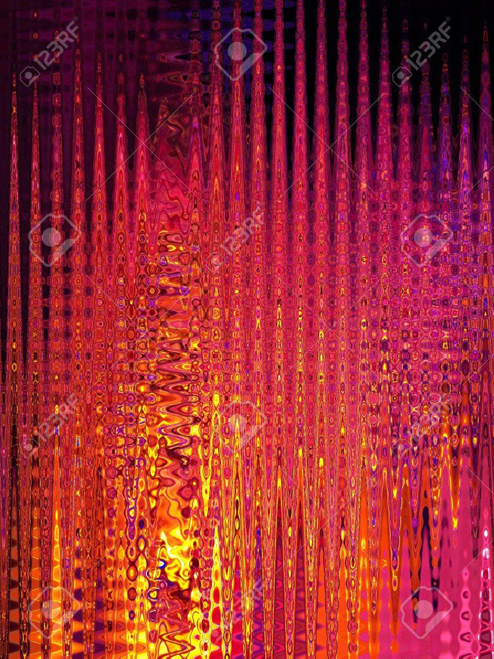 Psychedelic colourful lines background Stock Photo - 7408686