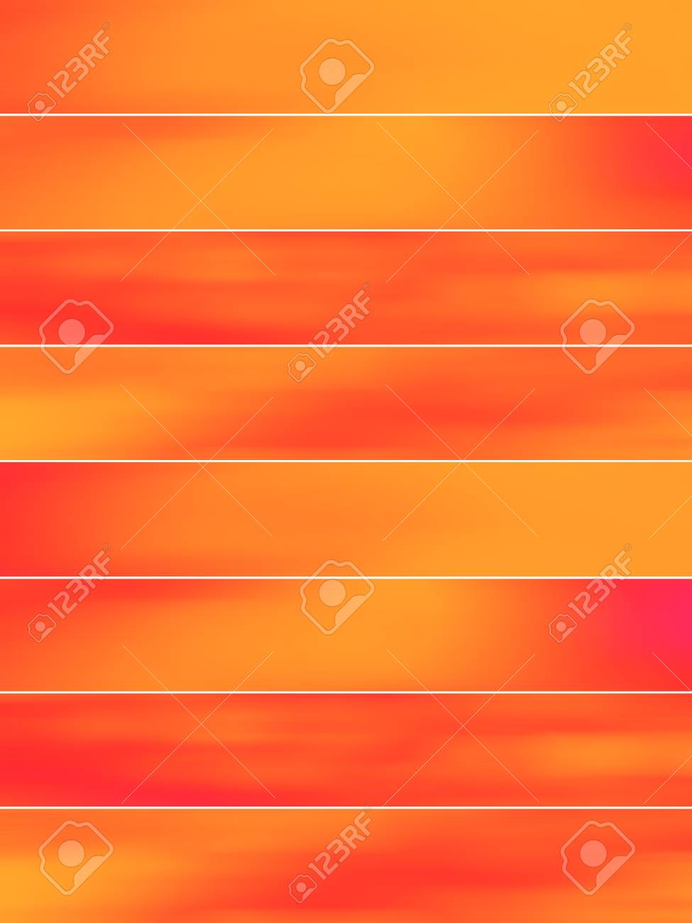 Orange and red blurs on background serie Stock Photo - 12045570