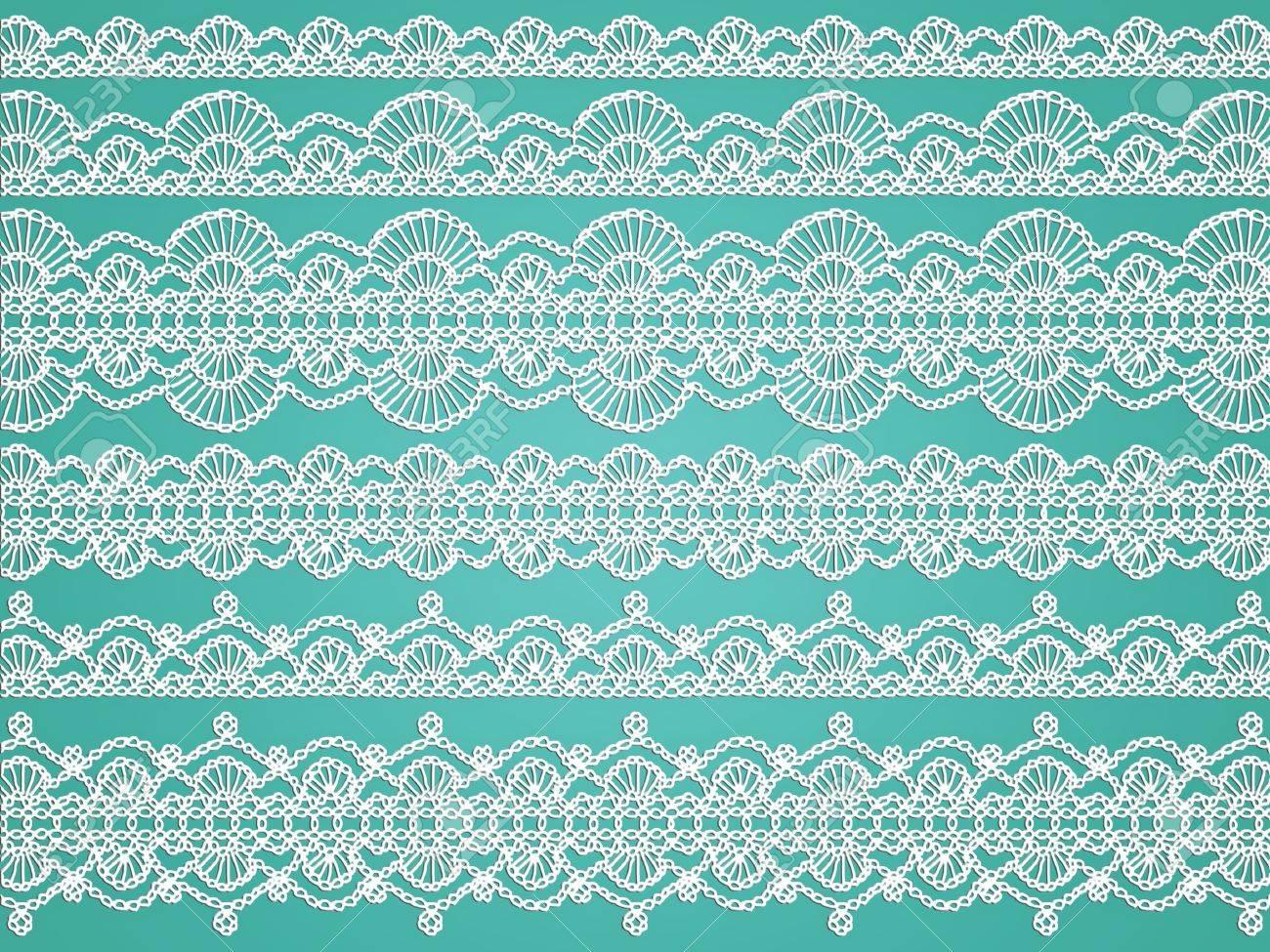 Crochet Blanco Delicado Transparentes Patrones De Tela De Tejido ...