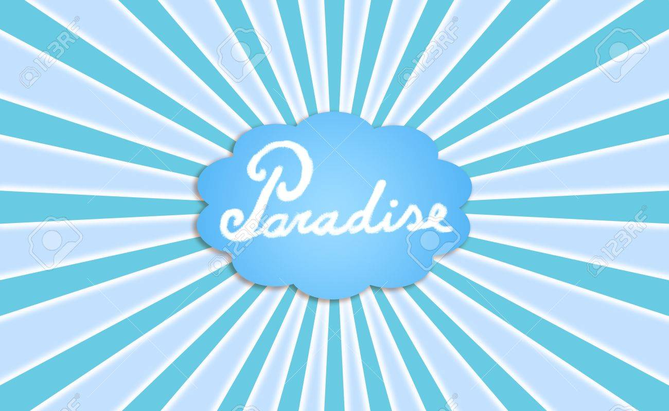 Paradise, dream, cloud, clouds, energy Stock Photo - 12622594