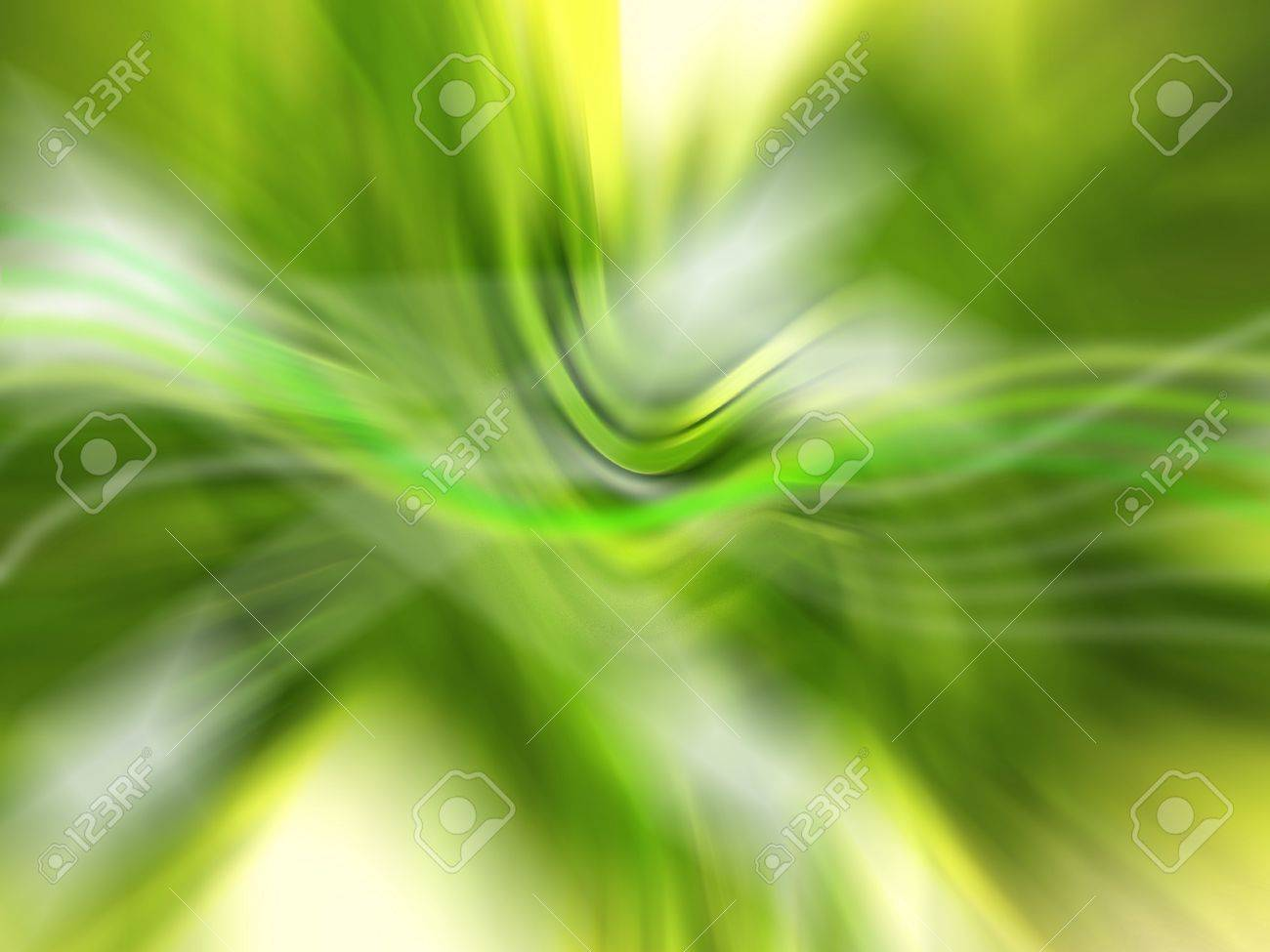 Green softness of an abstract backdrop with lights and blurs Stock Photo - 12807902