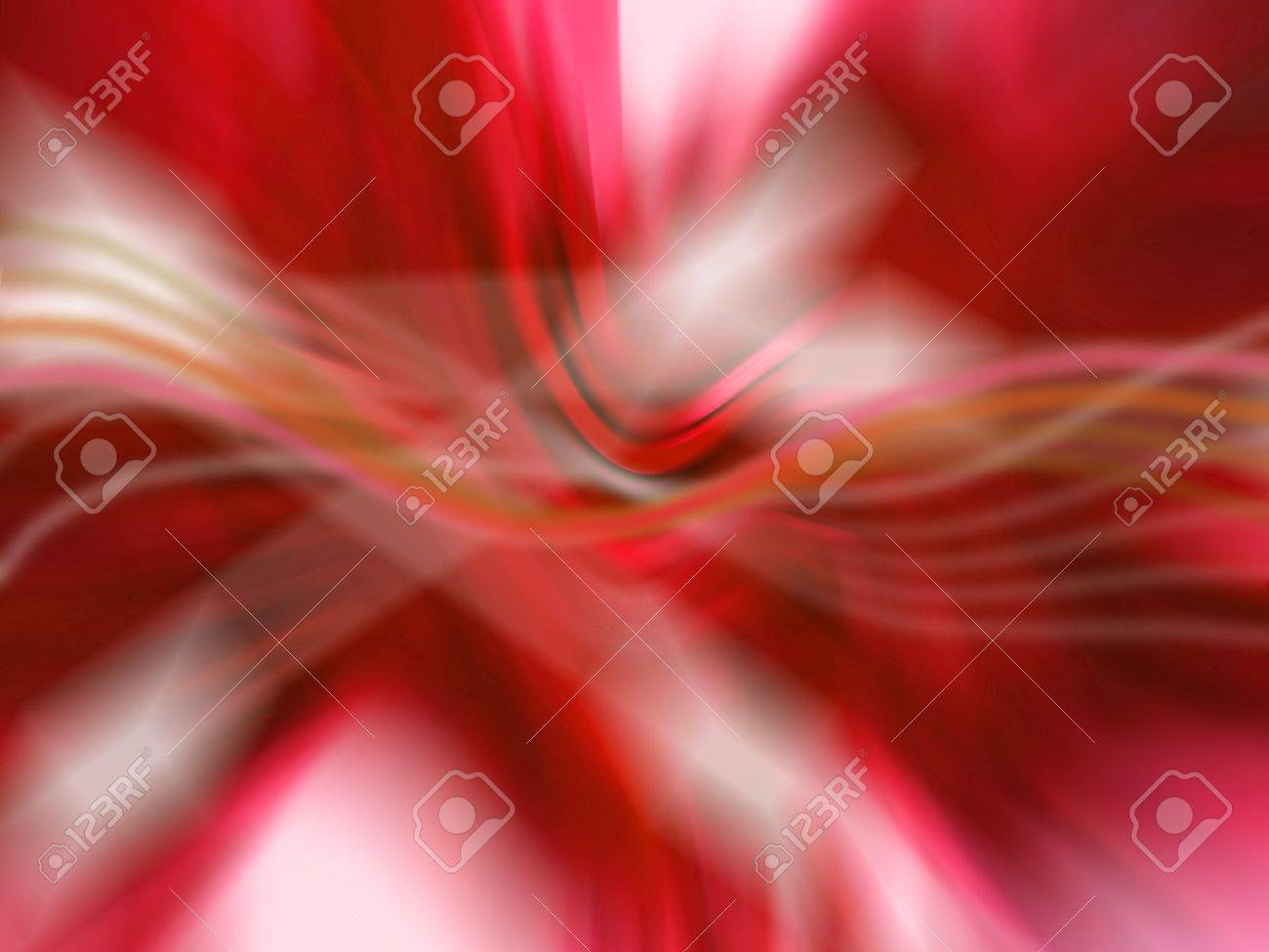 Abstract fluid red background with lights Stock Photo - 12807907
