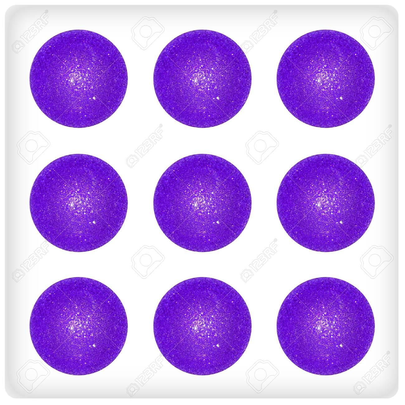 Nine, xmas, balls, dice, game, play, funny Stock Photo - 13113195