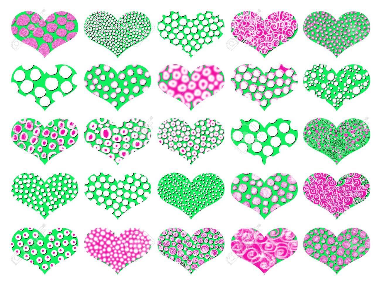 Encantador Roto El Arte De Uñas Del Corazón Galería - Ideas Para ...