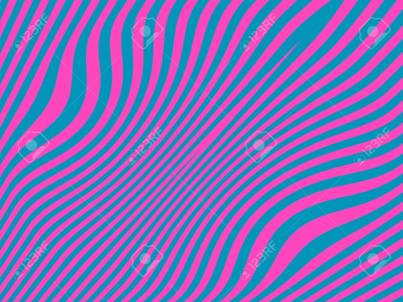 Psychodelic zebra pattern in pink and blue contrast Stock Photo - 13525235