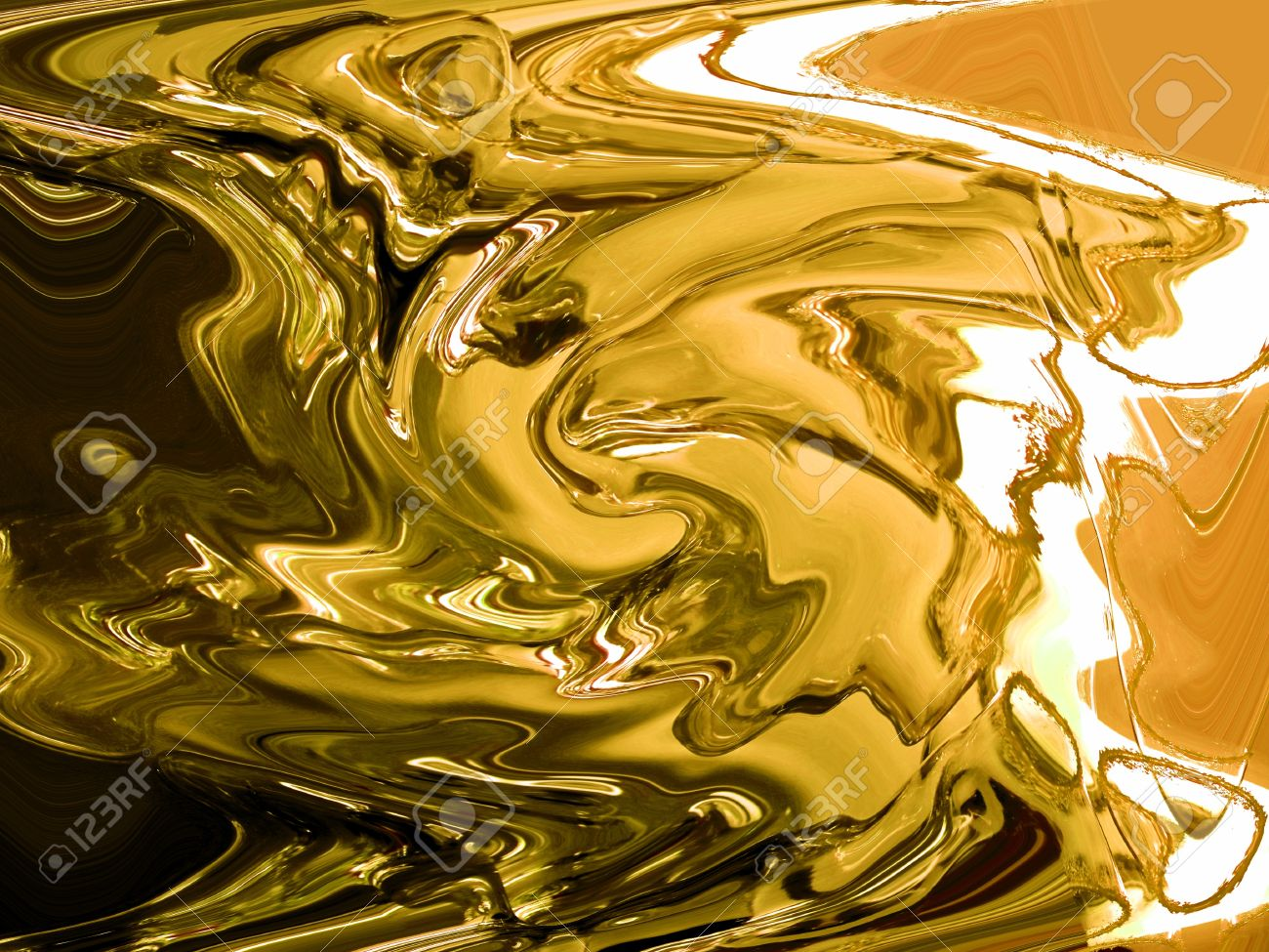 Gold, cast, casting, painting, precious metal, abstract brilliant background Stock Photo - 13617161