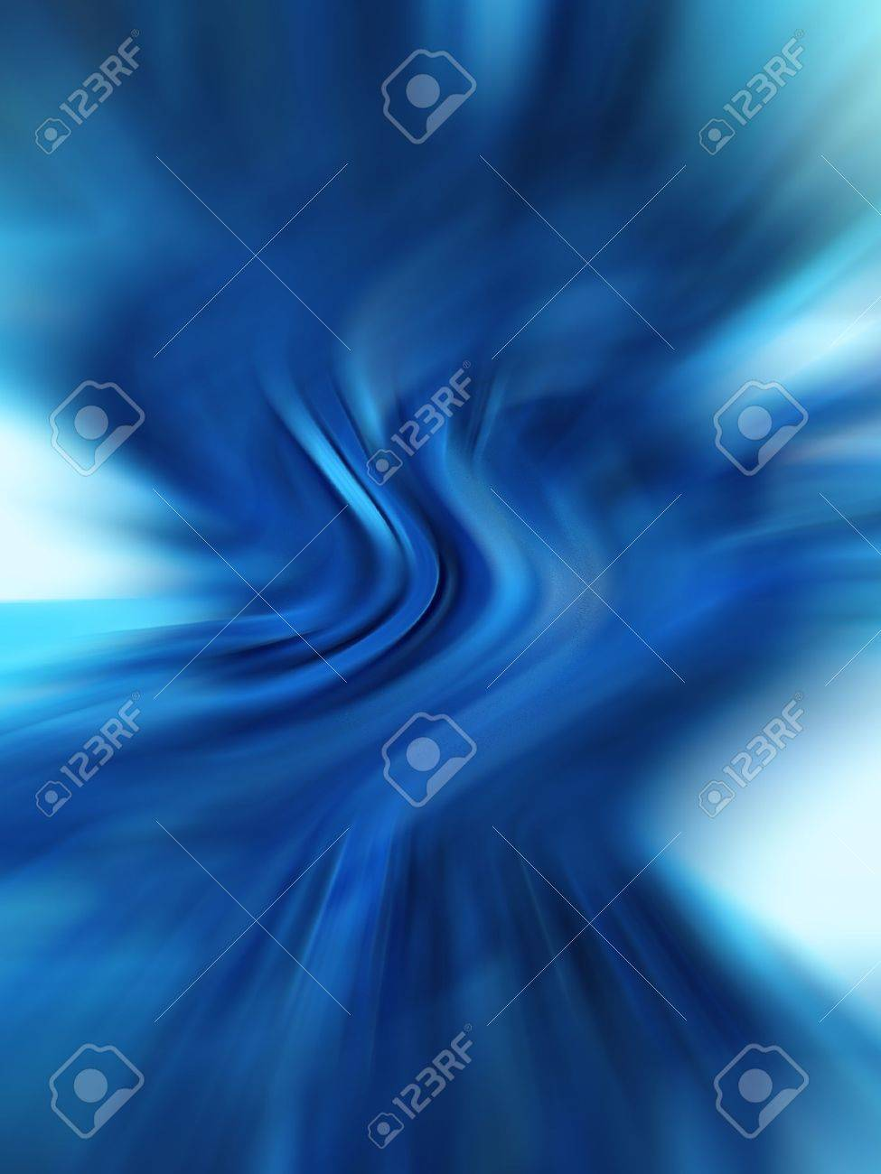 Vertical blue abstract blurs background Stock Photo - 13690149