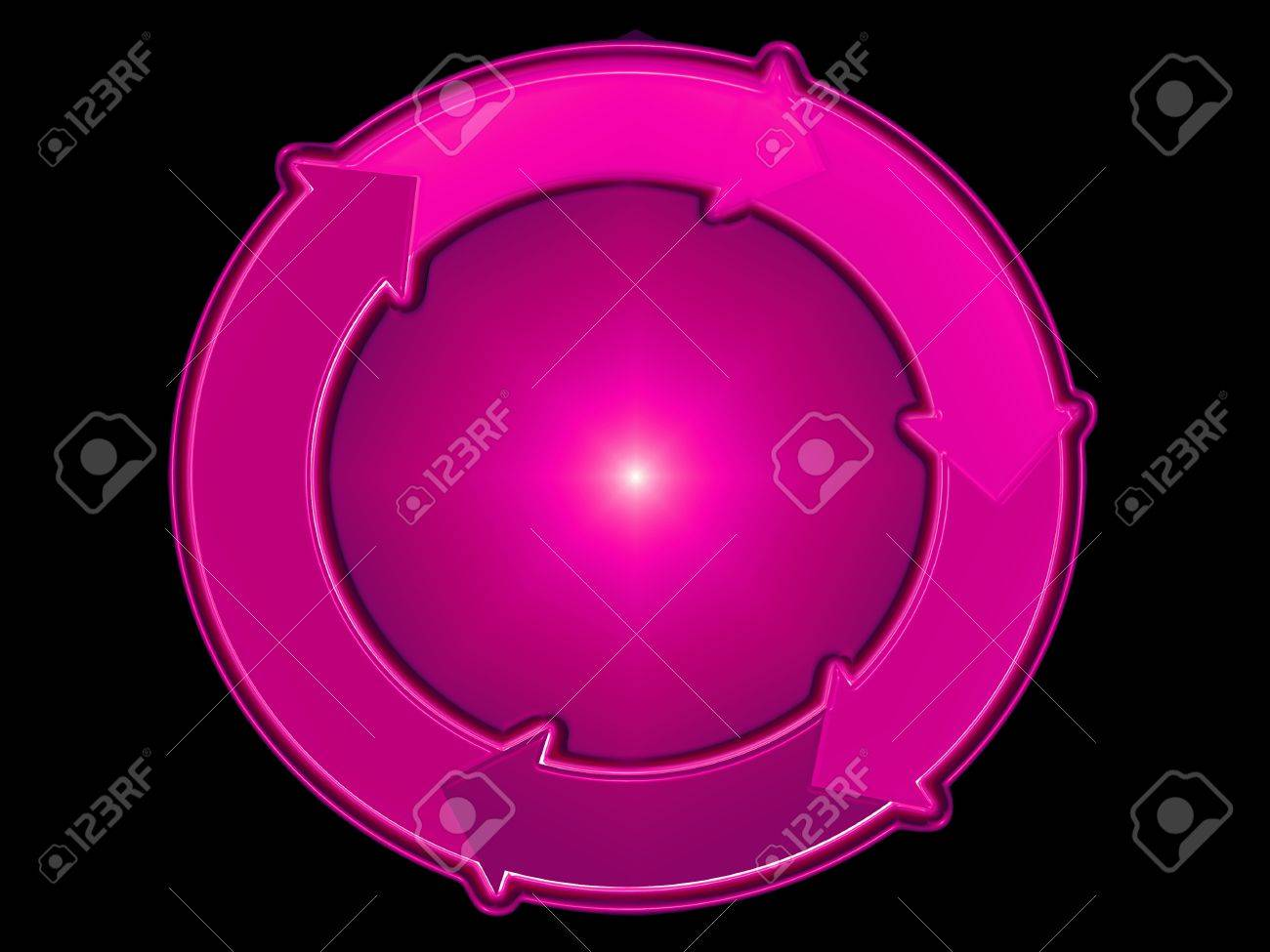 Magenta, circle, system, systems, graphic, diagram, scheme Stock Photo - 13792413