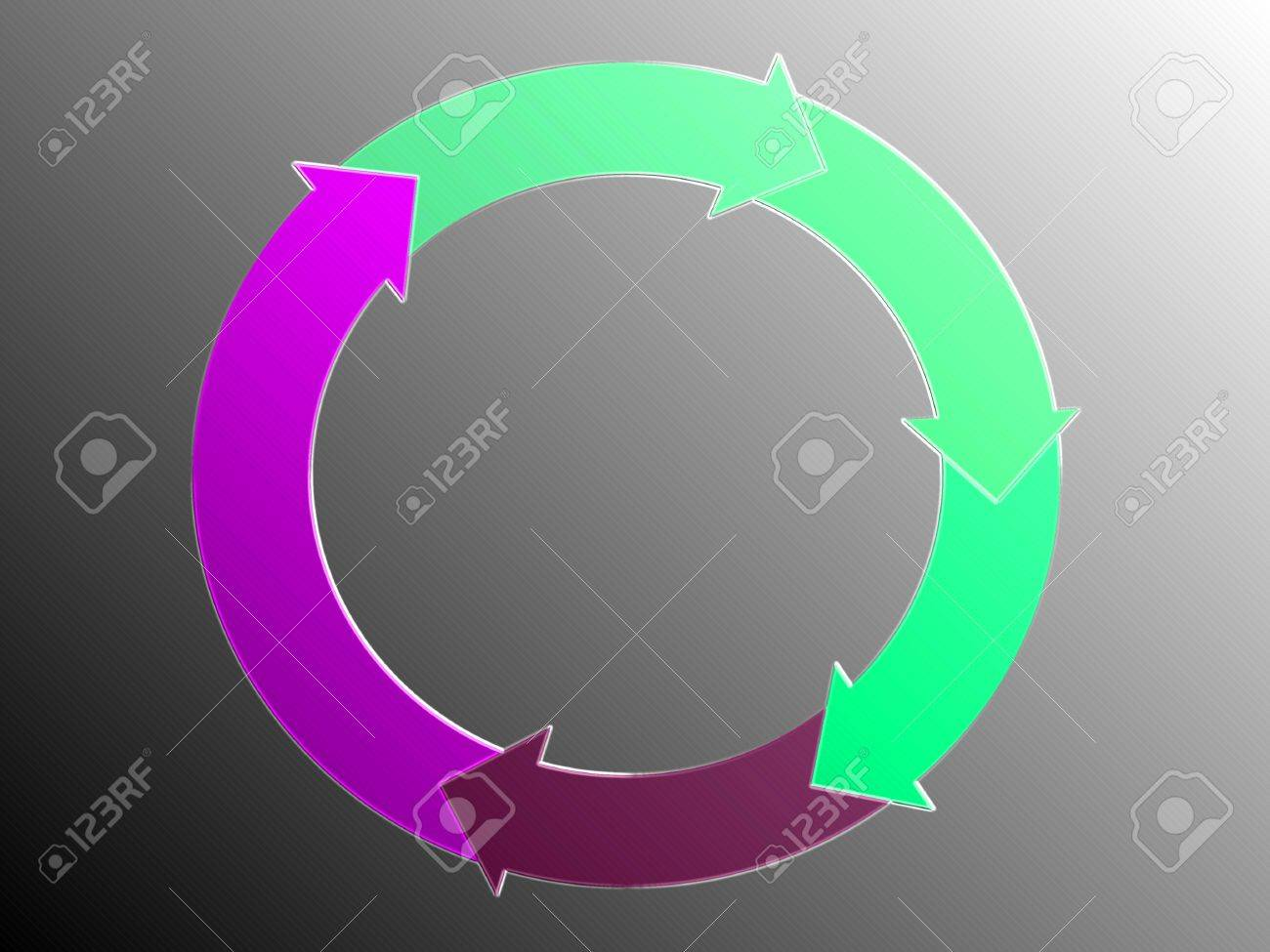 Cycle, recycle, arrows, circular, circle, graphic Stock Photo - 14559435