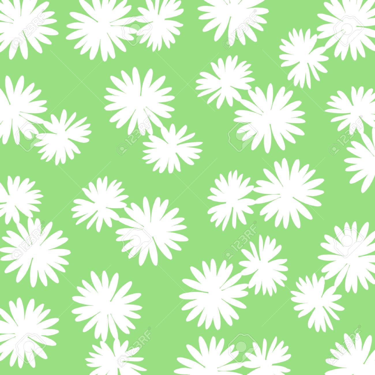 white flowery background over green stock photo picture and royalty