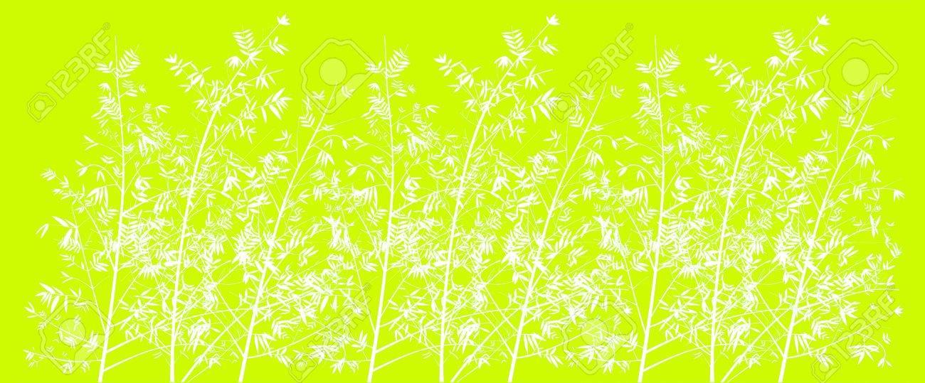 Immagini Stock Acido Di Limone Sfondo Verde Con Foresta Di Bambù