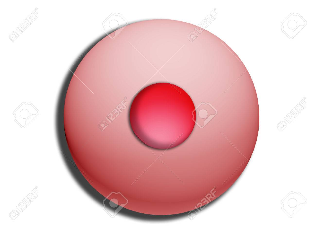 Pink circular sweet fruit bonbon temtation isolated on white Stock Photo - 28885645