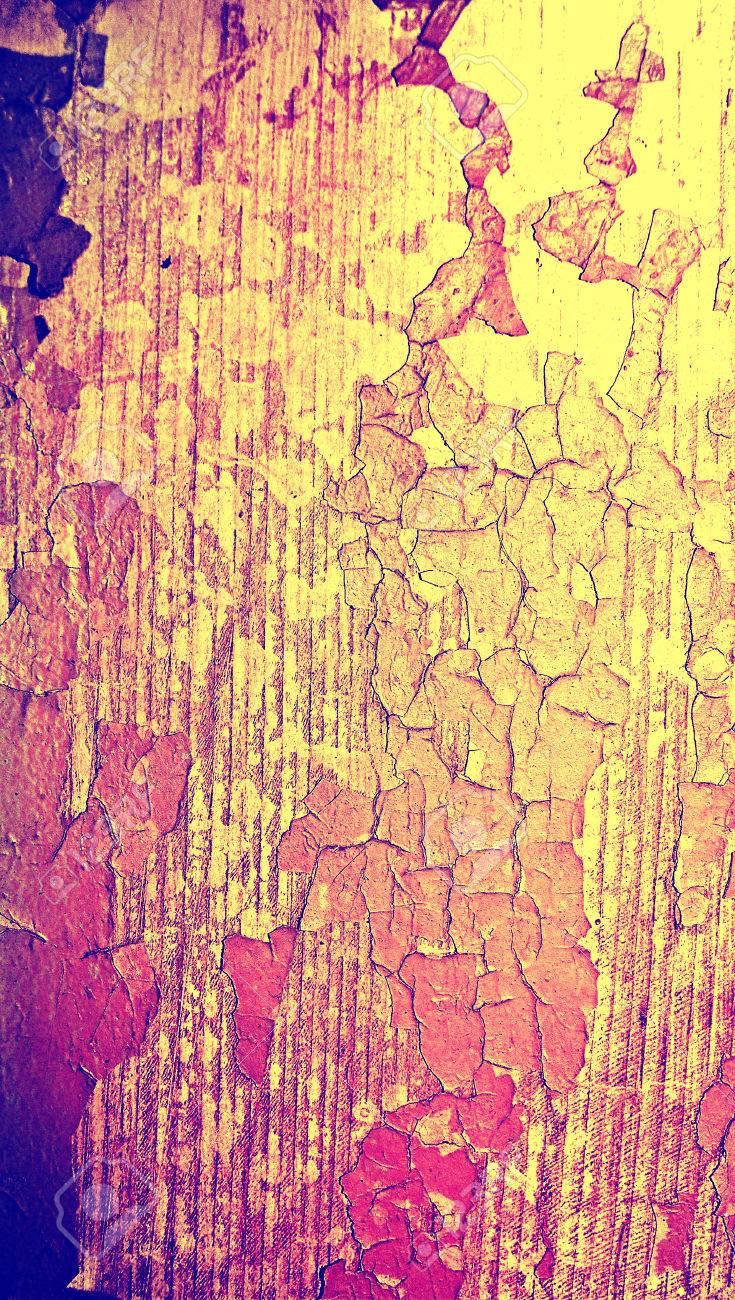 Cracked Holz Farbe Altrosa Hintergrund Schließen Sich Lizenzfreie