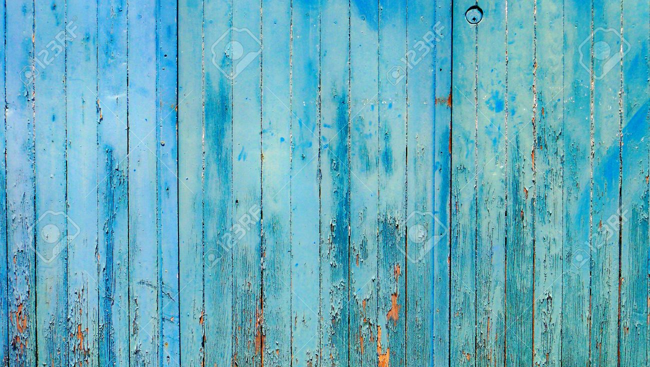 cyan blue vintage wood wall abstract background stock photo picture