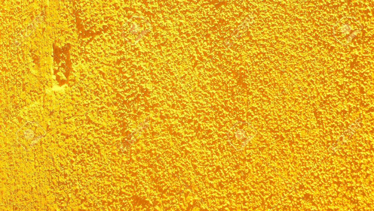 Yellow Wall Rustic Wall Closeup Abstract Background Stock Photo ...