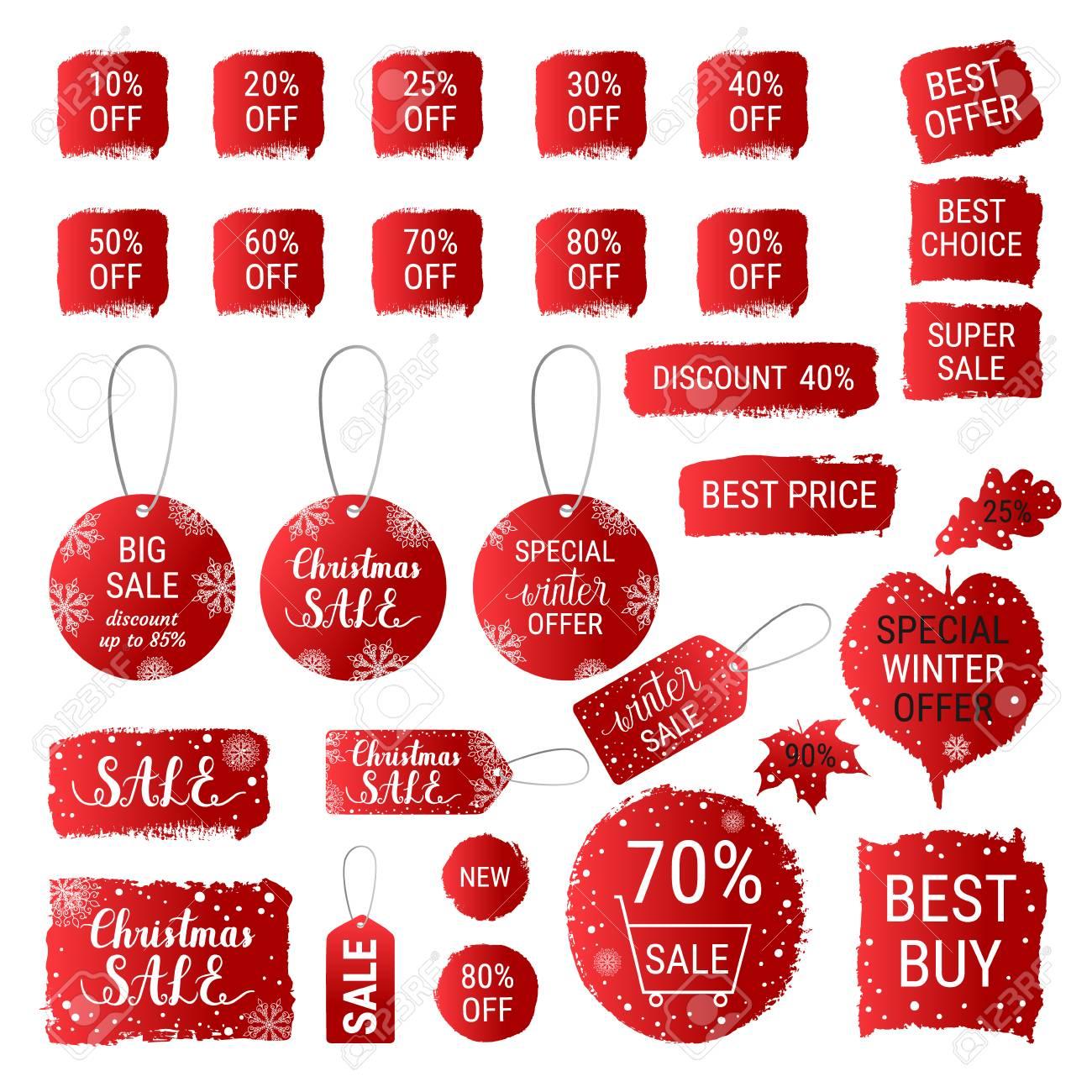 Großer Winterschlussverkauf, Weihnachtsverkauf, Spezielles ...