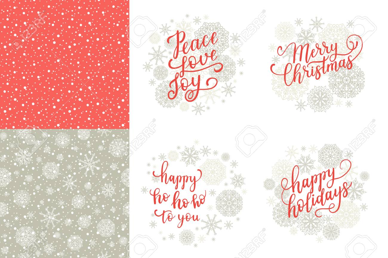 Merry christmas happy holidays happy ho to you peace love merry christmas happy holidays happy ho to you peace love joy greeting cards m4hsunfo