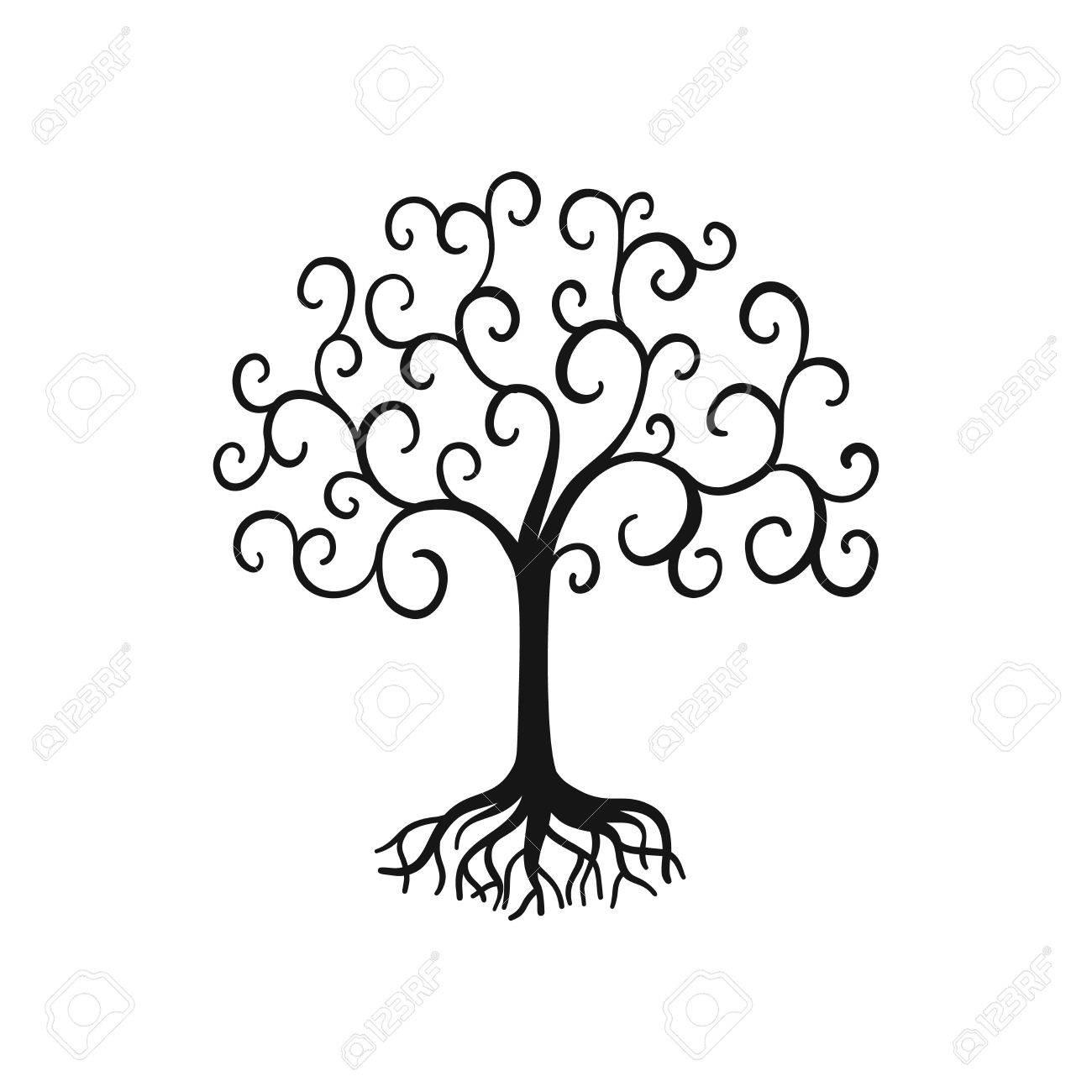 Vector árbol De La Vida Ilustraciones Vectoriales Clip Art