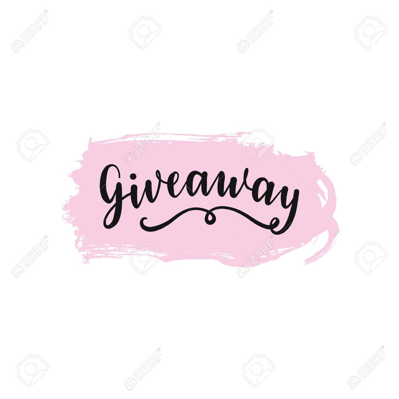 Giveaway Winner Award Illustration, Card For Promotional Products...  Royalty Free Cliparts, Vectors, And Stock Illustration. Image 85649036.
