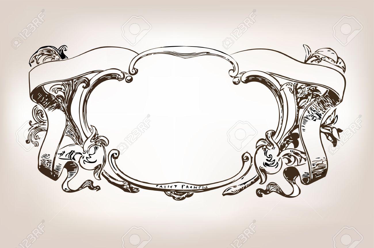 Antique frame - 13281776