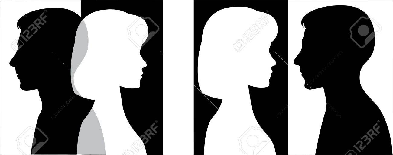 Man and woman Stock Vector - 13618098