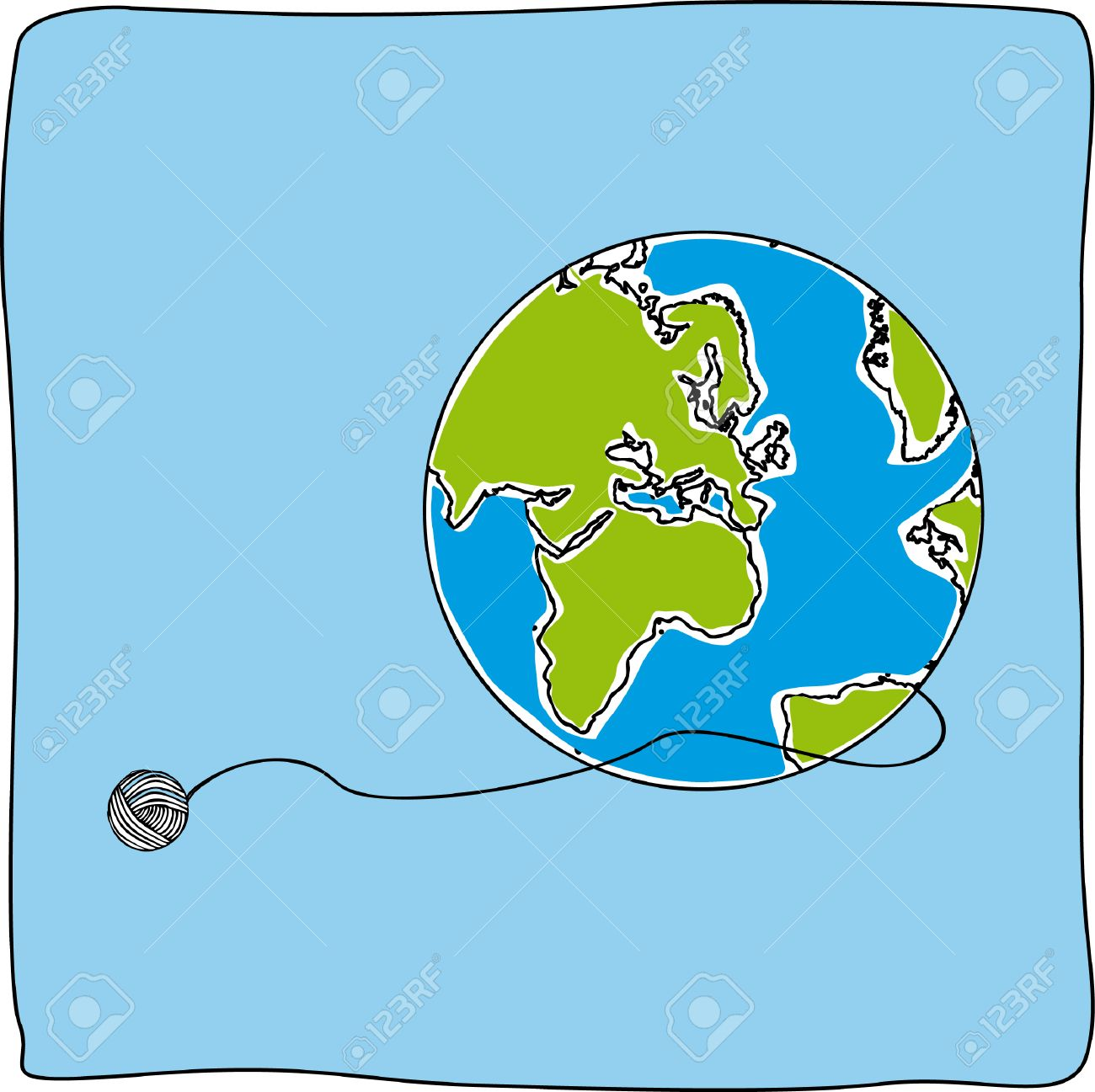 Map world draw globe background royalty free cliparts vectors and map world draw globe background stock vector 23647465 gumiabroncs Image collections