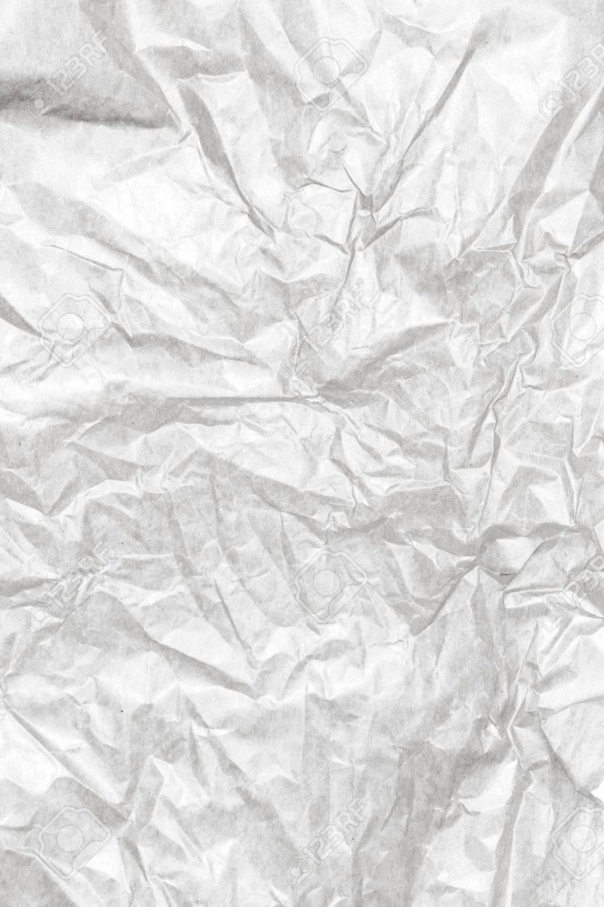 fond de papier blanc texture froissée. vintage artisanat texture du