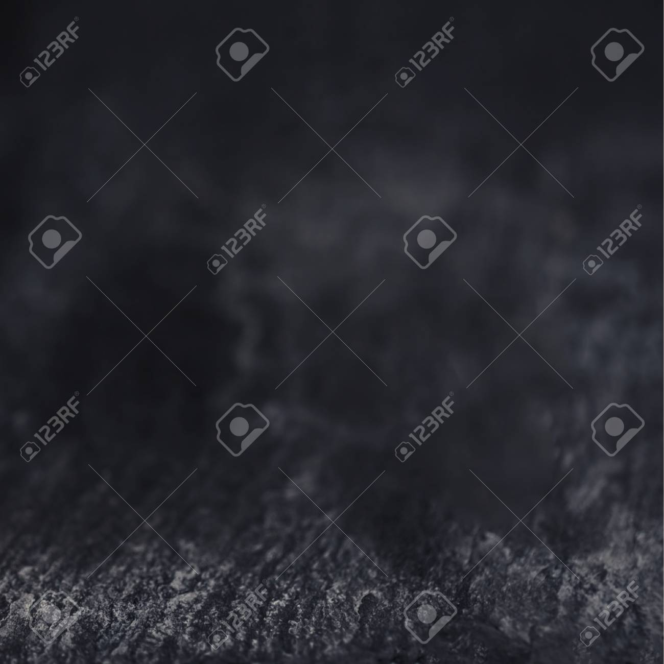 Dark Grunge Textured Wall Closeup Black Background