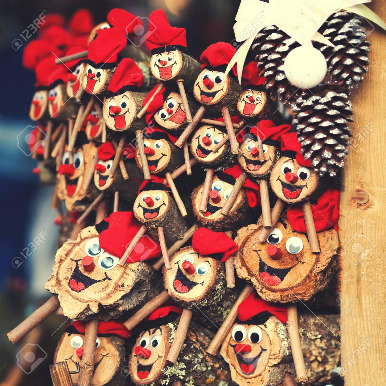 Spain Christmas Traditions.Tio De Nadal A Traditional Christmas Symbol Of Catalonia Spain