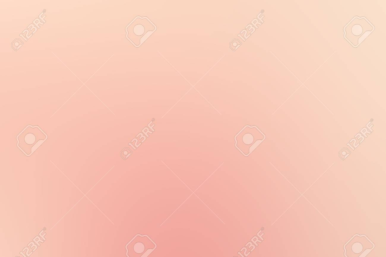 Abstract Spring Peach Color Blur Background For Website Pattern