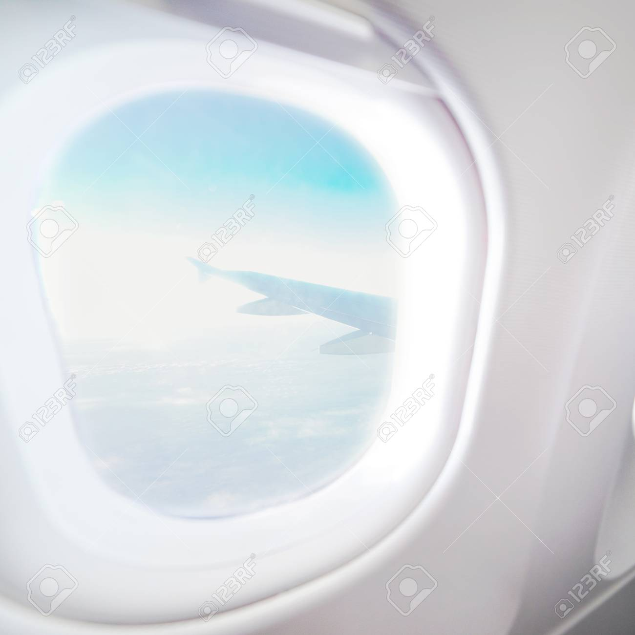 Airplane Window View Inside An Aircraft Window Plane Vacation