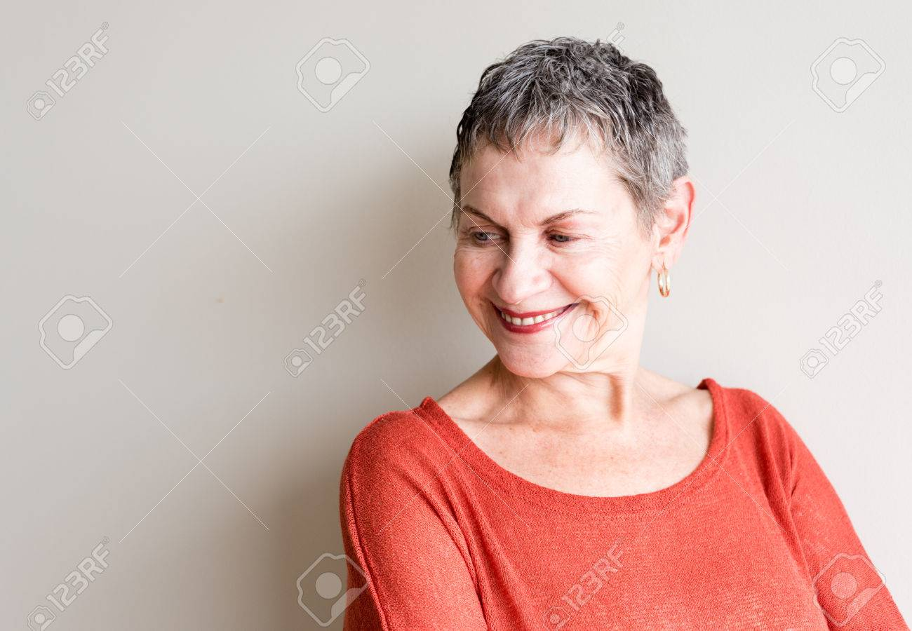 Older woman with