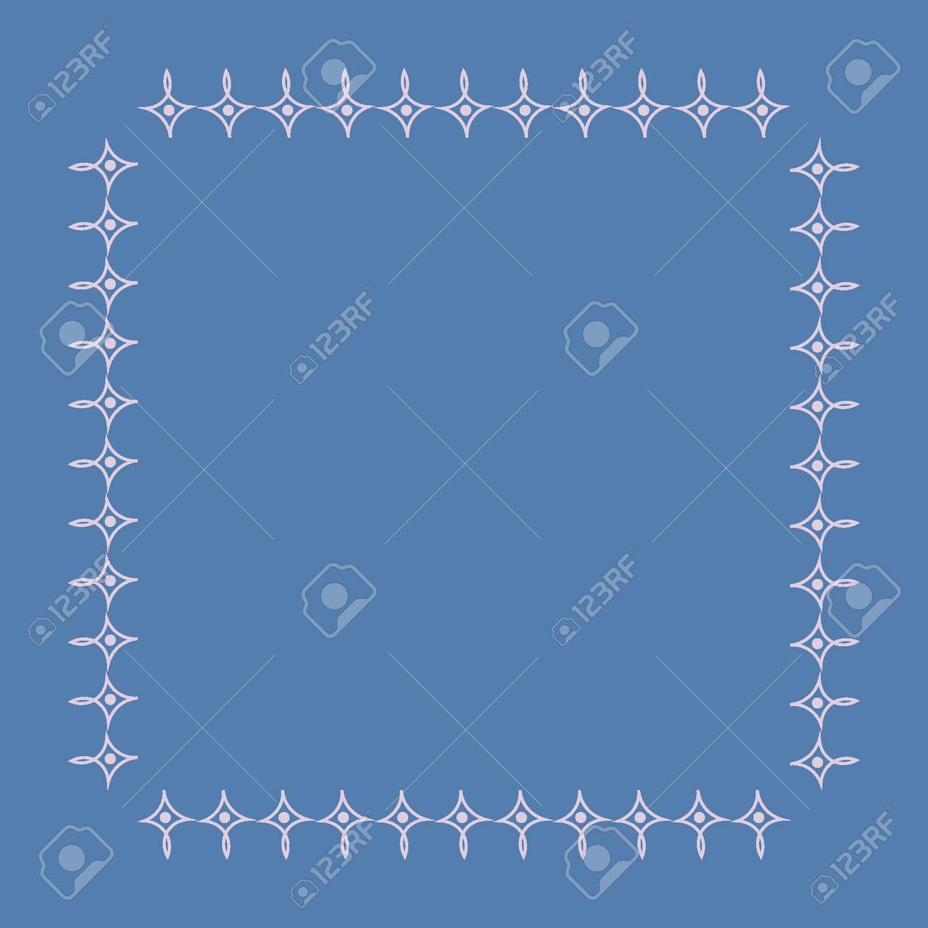 Stylized geometric pattern on a square background. Shape. Ethnic. Design element carpet simplicity. Art - 170610122