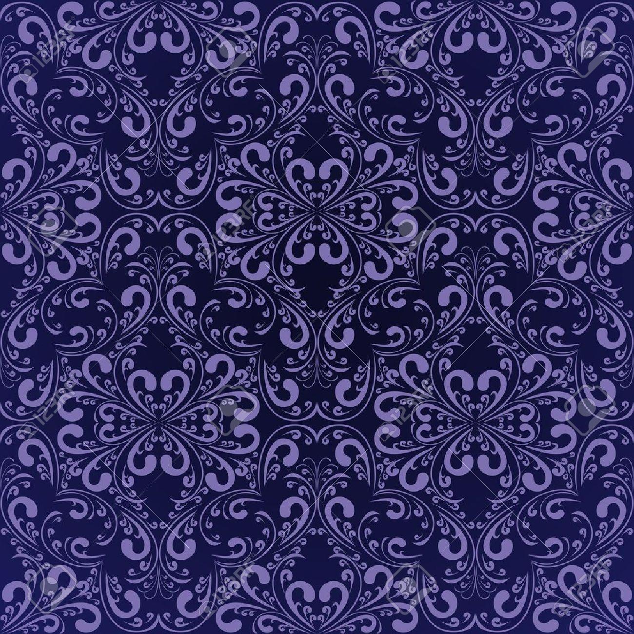 Navy blue wallpaper - 12964237