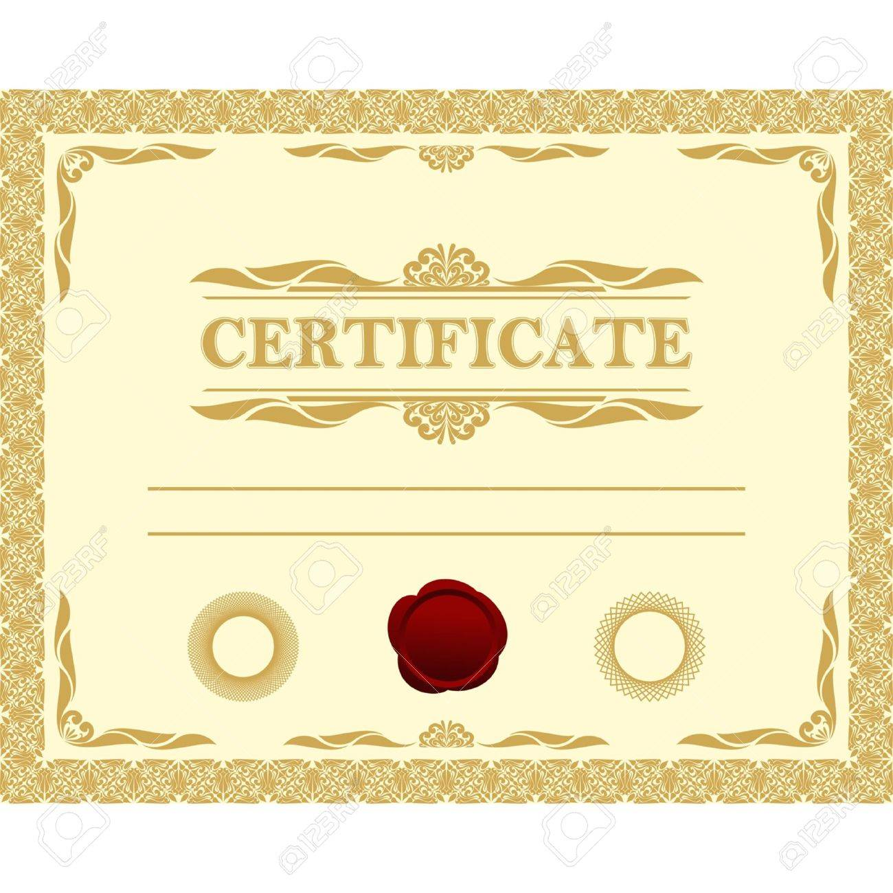 Certificate template royalty free cliparts vectors and stock certificate template stock vector 16298438 xflitez Gallery