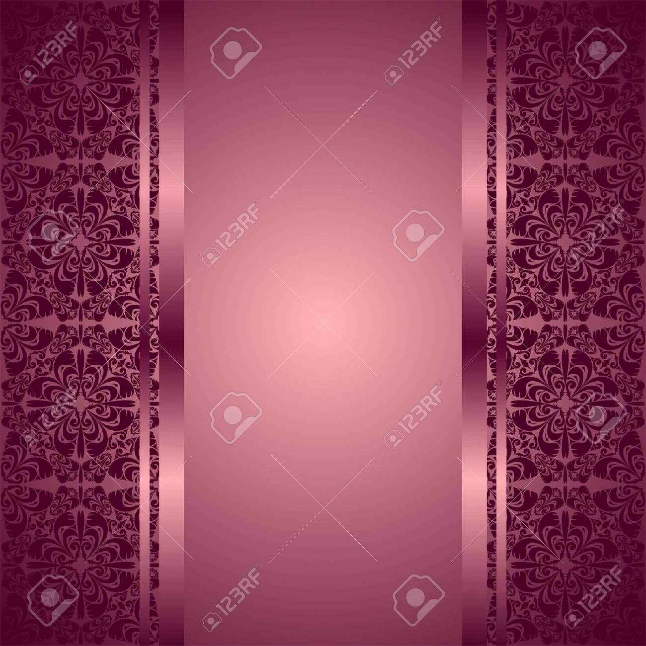 Luxury violet Background decorated a ornament. - 16492435