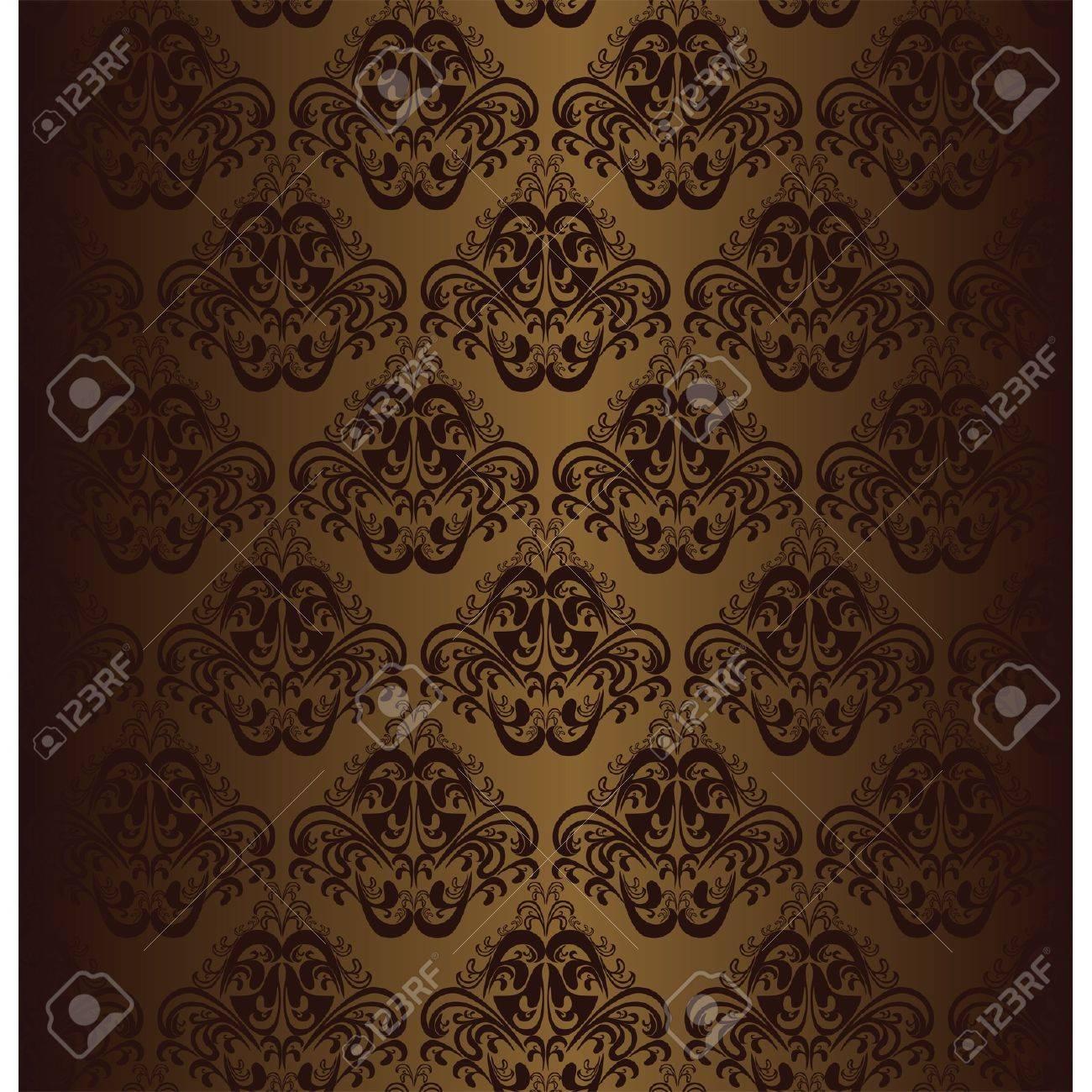 Brown seamless wallpaper. - 16662166
