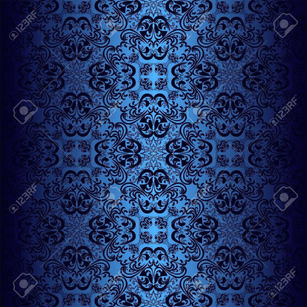Bleu Marine Et Bleu Nuit seamless dark blue wallpaper.