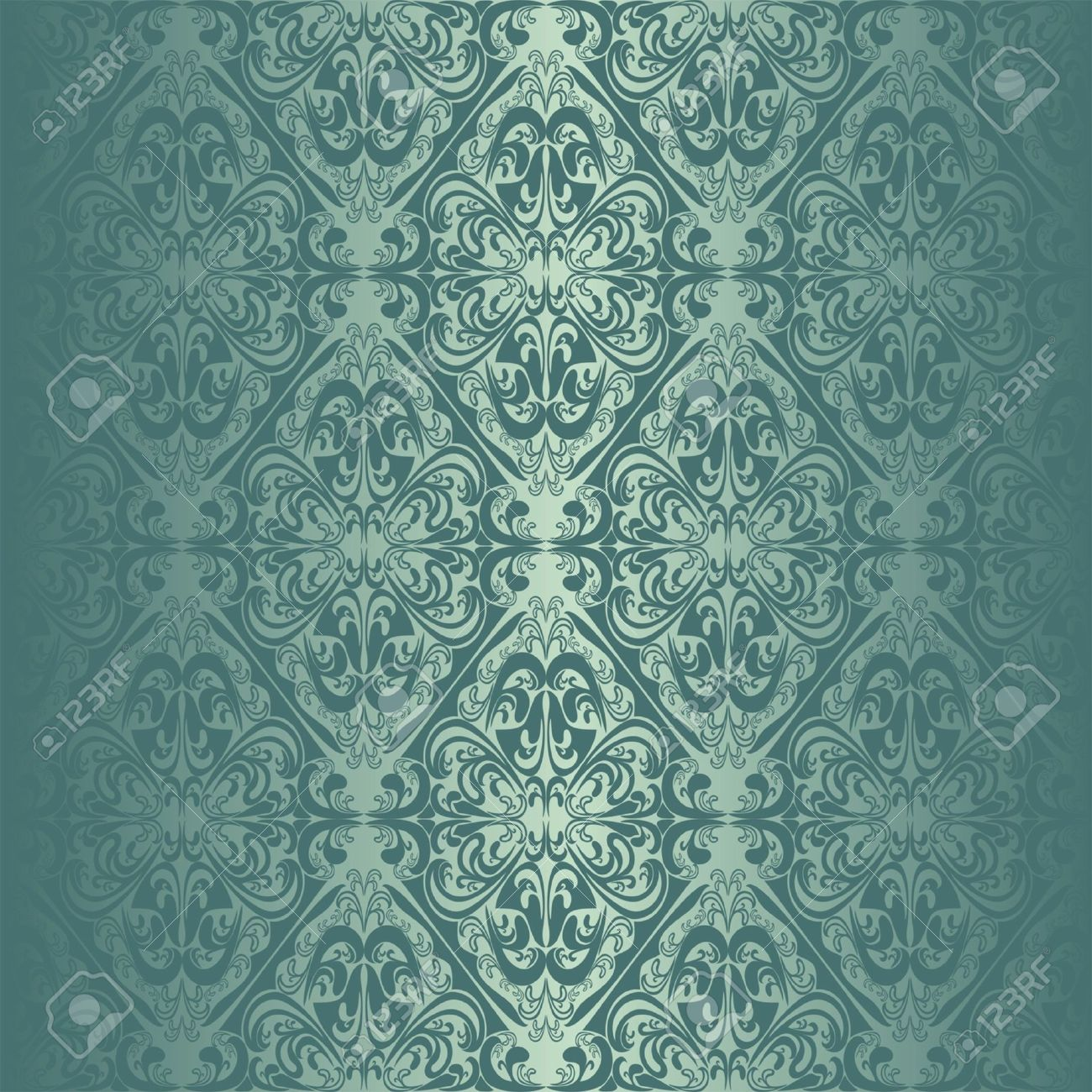 Turquoise seamless wallpaper royalty free cliparts vectors and turquoise seamless wallpaper stock vector 16662164 voltagebd Gallery