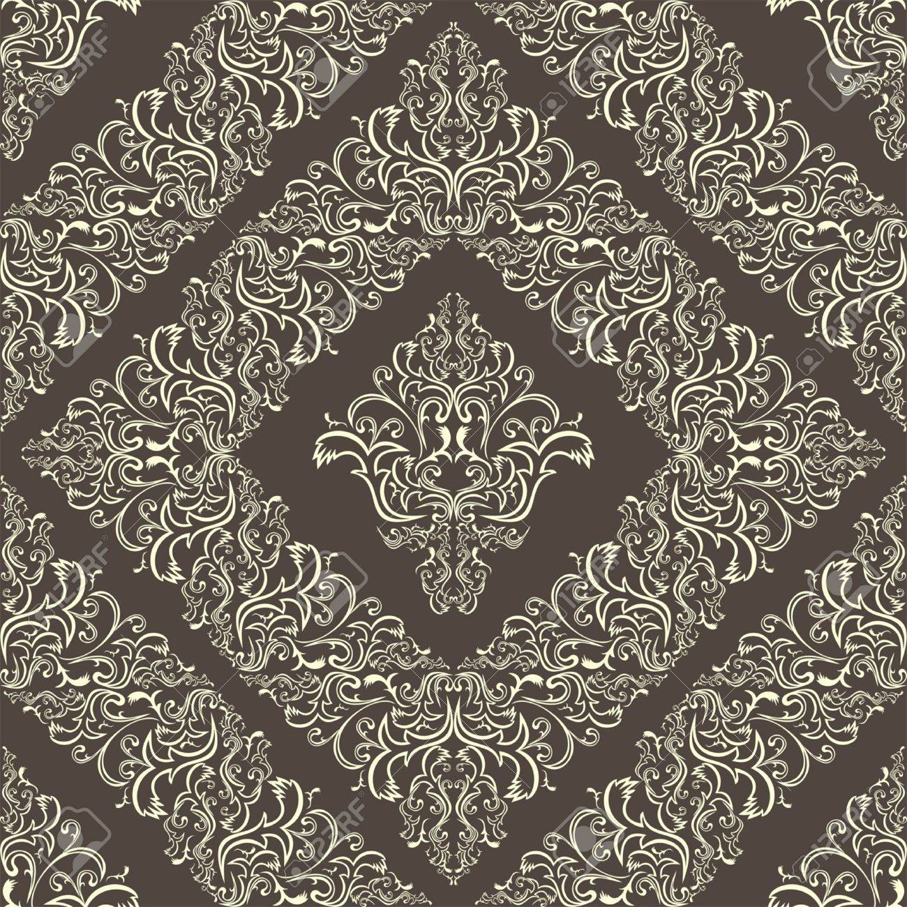 Seamless damask pattern. Stock Vector - 18022745