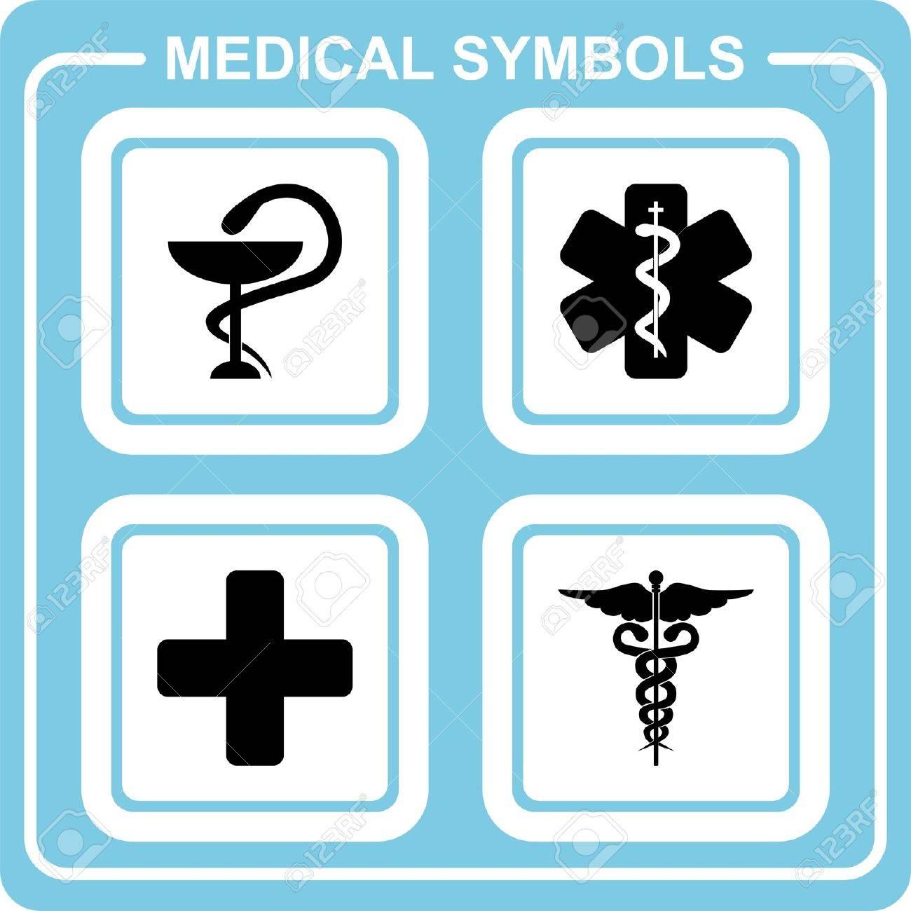 Medical symbols Stock Vector - 19599564