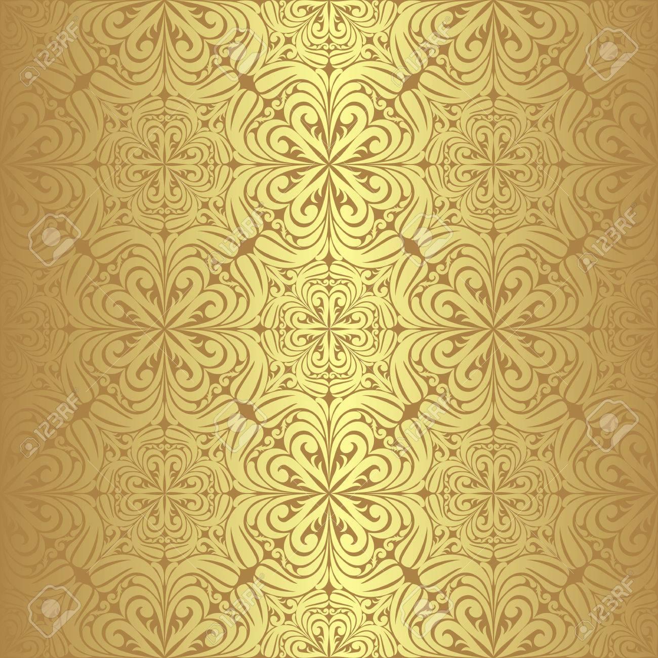 Luxury golden seamless Wallpaper - 24060622